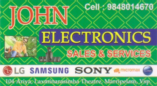 John Electronics - LED TV, LCD TV Service and Repair, Sales, marripalem In Visakhapatnam, Vizag