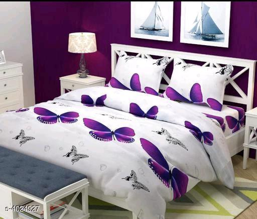 Shiny Stylish Polycotton BedSheets
