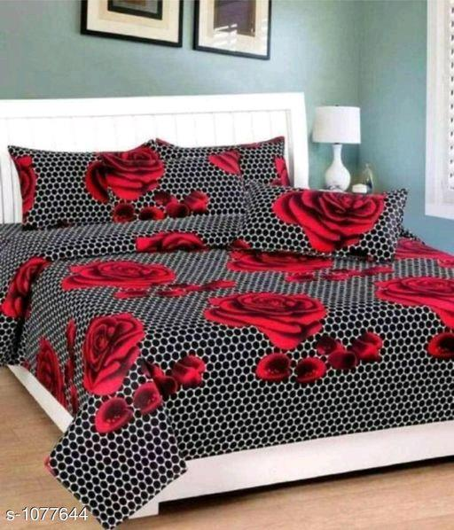 Beautiful 3D Printed Double Bedsheet