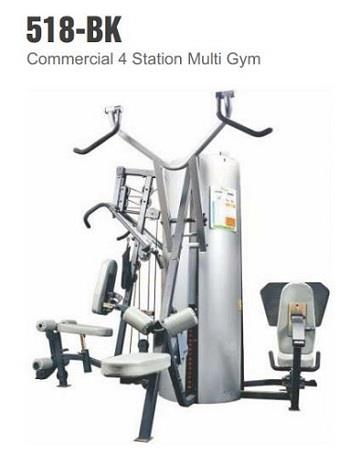 Commercial 4Station Multi Gym Equipment
