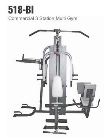 Commercial 3 Station Multi Gym