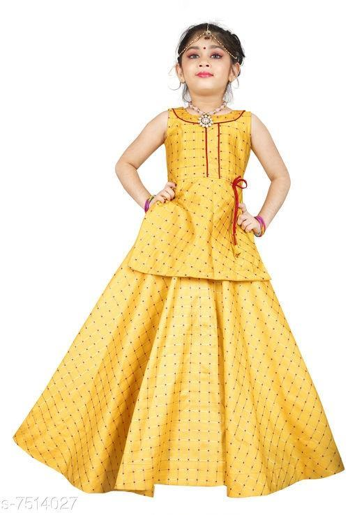 Kids Lehenga Choli For Girls