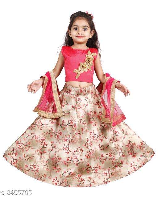 Kids Girls Lehanga Choli
