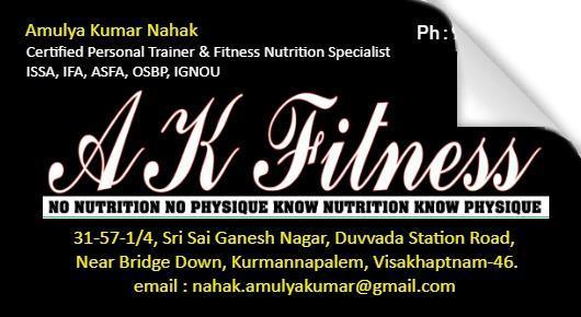 AK Fitness,Kurmannapalem In