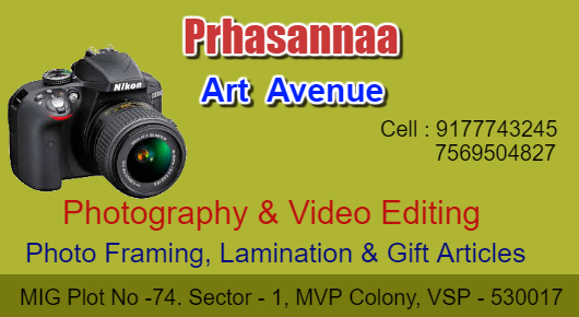 Prhasannaa Art Avenue MVP Colony in Visakhapatnam Vizag,MVP Colony In Visakhapatnam, Vizag