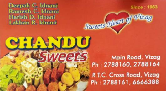 Chandu Sweets in RTC Complex Visakhapatnam Vizag,RTC complex In Visakhapatnam, Vizag
